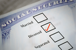 helping a divorced client claim social security