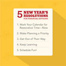 new year's resolutions for financial advisors