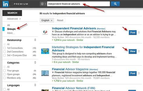 Joining and Creating LinkedIn Groups: A How-To for Financial Advisors