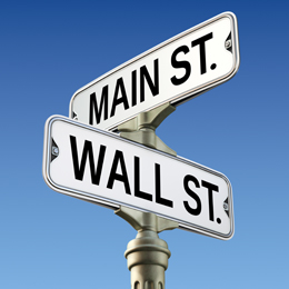 Wall Street vs. Main Street