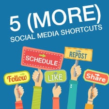 social media shortcuts for financial advisors