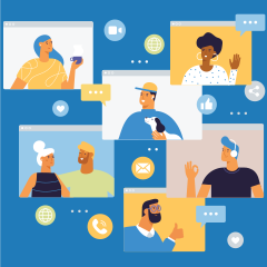 Networking in a virtual world