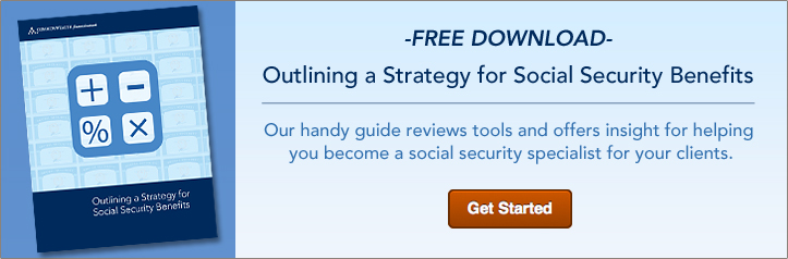 Outlining a Strategy for Social Security Benefits