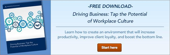 Driving Business: Tap the Potential of Workplace Culture