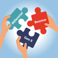 leading multiple generations in your financial services firm